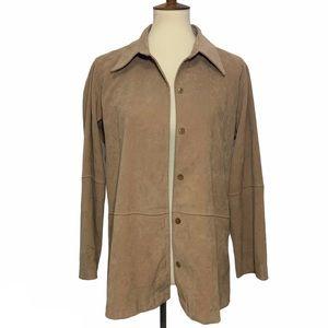 Zara Basic Long Sleeve Button Up Top